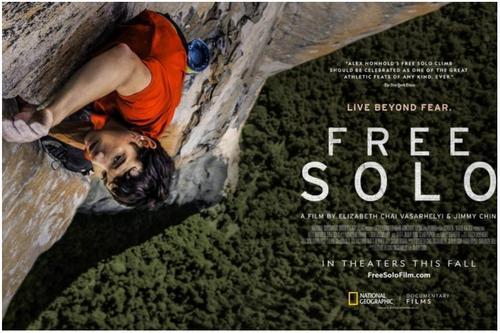৯১তম অস্কারে সেরা প্রামাণ্যচিত্র 'ফ্রি সলো'