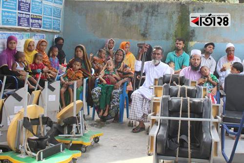 ২০ বছর ধরে প্রতিবন্ধীদের বিনামূল্যে সেবায় 'স্বাবলম্বী'