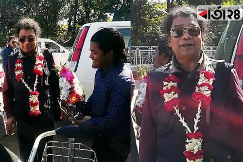 বাউল শিল্পী ক্বারী আমির উদ্দিন এখন সিলেটে