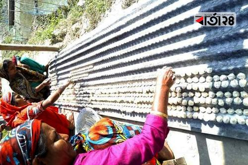 গাইবান্ধার বড়া তৈরির গ্রাম 'নুরপুর'
