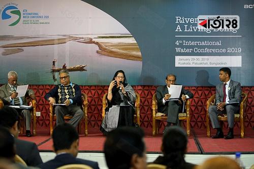 আন্তর্জাতিক পানি সম্মেলন: নদীকে জীবন্ত সত্ত্বার স্বীকৃতির দাবি