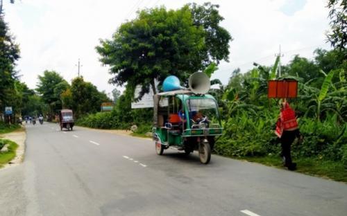 নিয়োগ বাণিজ্য ঠেকাতে রংপুর জেলা পুলিশের মাইকিং