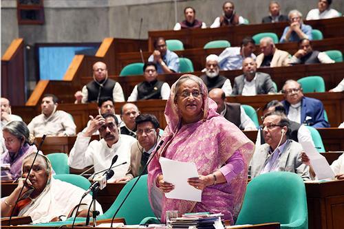 দেশের সম্পদ বিক্রির রাজনীতি করি না: শেখ হাসিনা