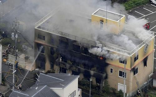 23 feared dead in Japan animation studio fire