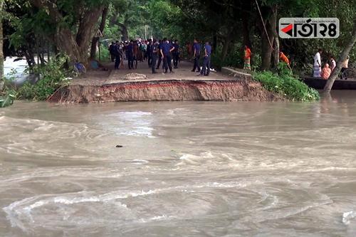 ভূঞাপুর-তারাকান্দি সড়ক মেরামতে সেনাবাহিনী