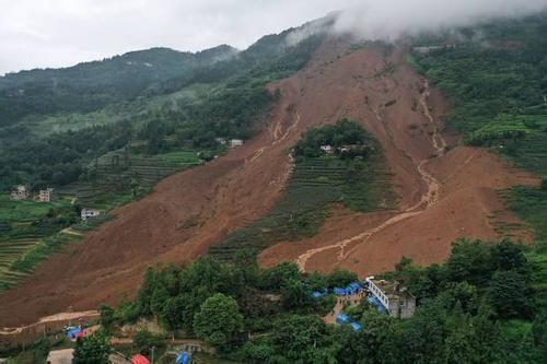 Southwestern China landslides in kill 12