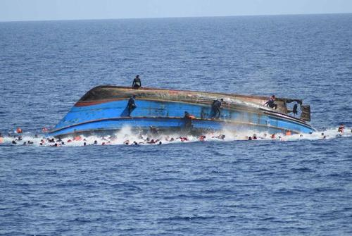 Boat capsize at Libya coast, 150 migrants feared dead