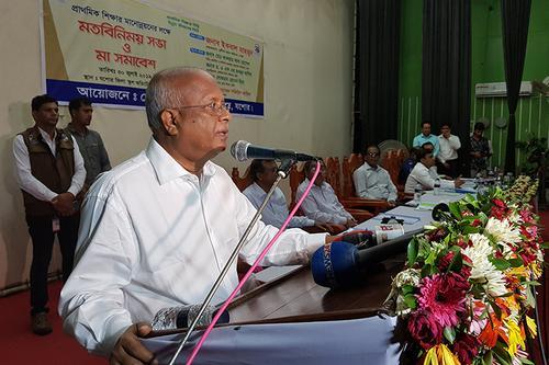 'শিক্ষকদের বেতন ও সামাজিক মর্যাদা বৃদ্ধি সময়ের দাবি'