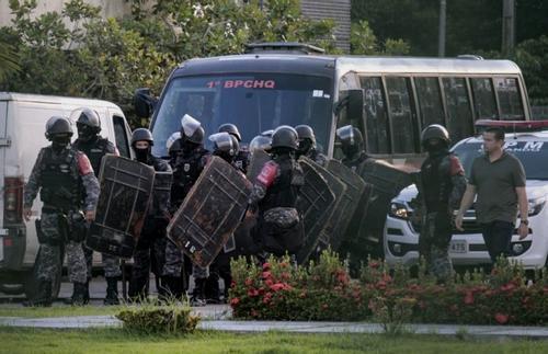 At least 57 inmates dead in Brazil prison riot