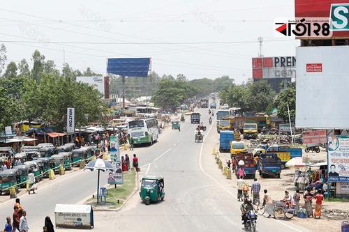 ঈদযাত্রা: সিরাজগঞ্জ রোডে এবার স্বস্তি