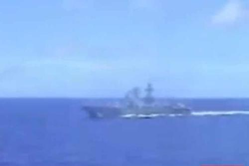 USA and Russian war ships escaped head on collision in the Pacific