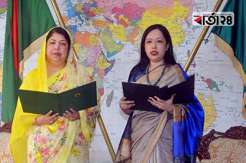 Rumin Farhana of BNP takes oath as MP