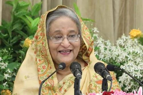 Sheikh Hasina is hopeful in solving outstanding problems withIndia