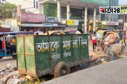 'স্বাধিকার থেকে স্বাধীনতা' যেন ময়লার ভাগাড়