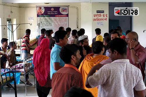 কেন্দুয়ায় দু'পক্ষের সংঘর্ষে আহত অর্ধশত