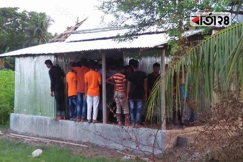 তরুণরা গড়ে তুললেন পাঠাগার 'প্রাণে প্রাণ বইকুঞ্জ'