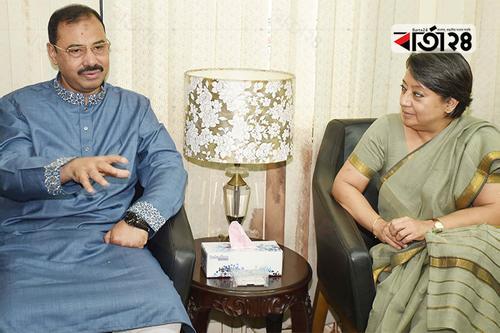 Indian High Commissioner met CCC Mayor
