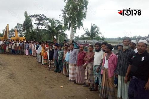 Landless fishermen are under eviction threat in Shahpori