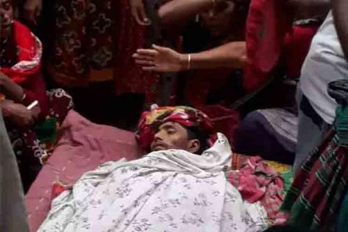 চাঁপাইনবাবগঞ্জ সীমান্তে  বিএসএফ'র গুলিতে বাংলাদেশি নিহত