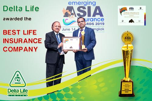 Delta Life awarded the Best Life Insurance Company