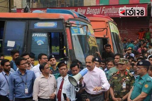 Mayor of DNCC orders closure of Supravat bus liner