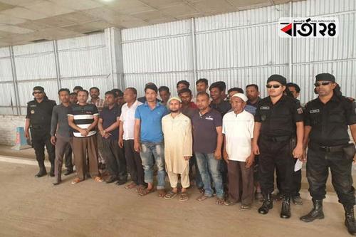 আগারগাঁও পাসপোর্ট অফিসে অভিযান: ২২ দালাল আটক