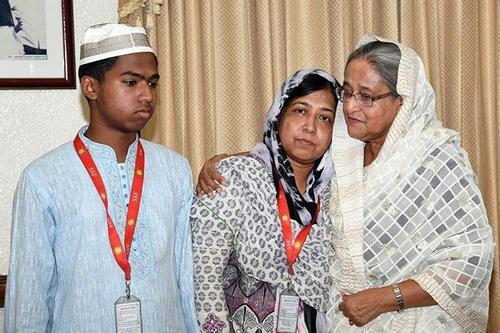 Prime Minister consoles Abrar's grieved parents