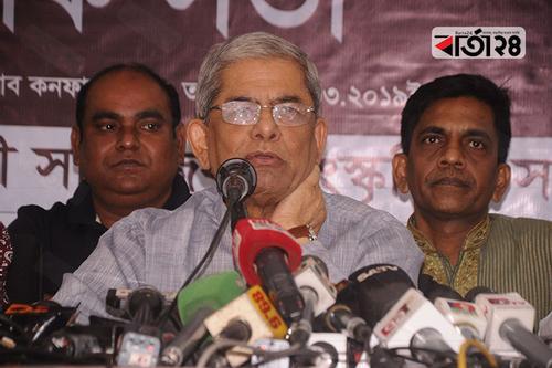 সরকারের ন্যূনতম সহনশীলতা নাই: মির্জা ফখরুল