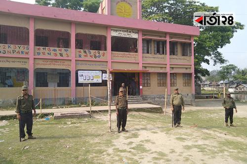 পটুয়াখালীতে ভোটারহীন ভোটকেন্দ্র