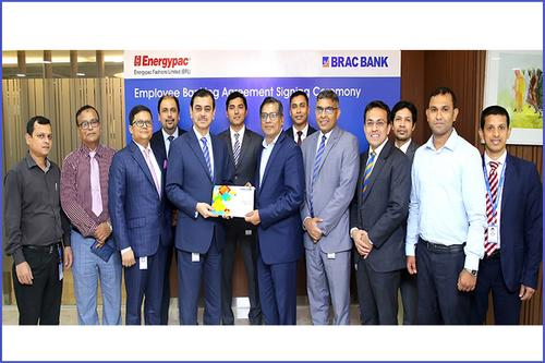 BRAC Bank and Energypac Fashions signed Agreement