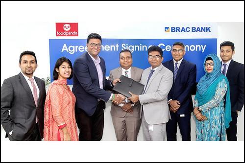 BRAC Bank Credit Card Cashback at Foodpanda