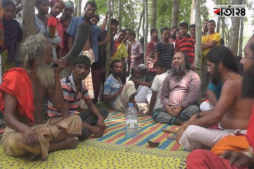 মহাস্থানগড়ে সাধু-সন্ন্যাসীদের মিলনমেলায় ভাটা