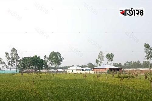 সৈয়দপুর বিমানবন্দর এলাকায় পাকা বাড়ি নির্মাণের হিড়িক