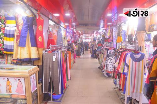 জমছে না সিটি হার্ট শপিং কমপ্লেক্সের ঈদ বাজার