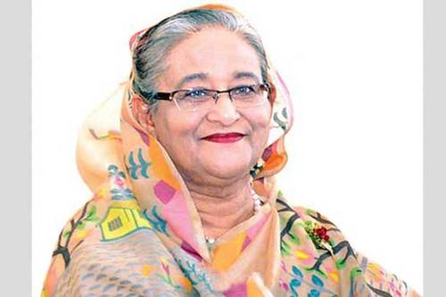 Sheikh Hasina stresses on peace and development of the country