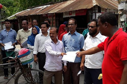 কলেজ অধ্যক্ষের অপসারণের দাবিতে আন্দোলনে শিক্ষকরা