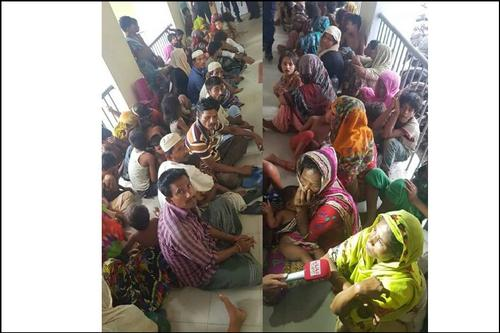 চট্টগ্রাম শিশুসহ ৫৪ রোহিঙ্গা আটক