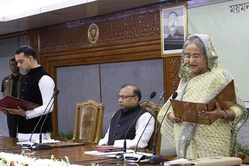 শপথ নিলেন মেয়র টিটু