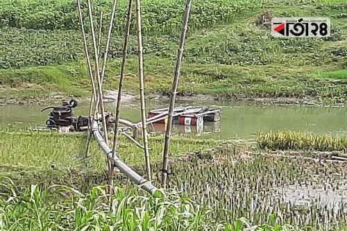 বড়াল নদী থেকে বালু উত্তোলনকারীকে জরিমানা