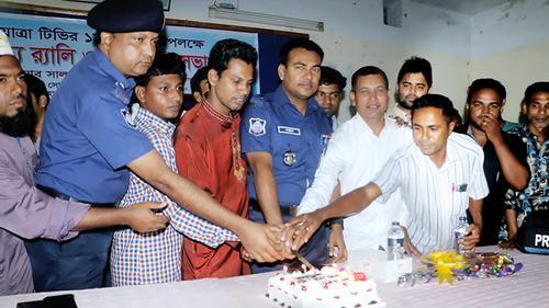 জয়পুরহাটে জয়যাত্রা টিভি'র প্রথম প্রতিষ্ঠা বার্ষিকী পালিত