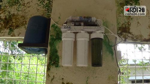 পাঁচ গুণ বেশি দামে কেনা পানির ফিল্টার ১৫ দিনেই অকেজো