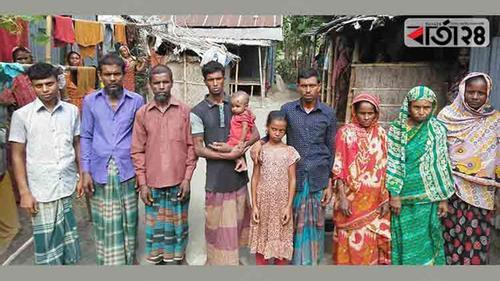 পাকা ঘর পাচ্ছেন বোবাবাড়ির বাকপ্রতিবন্ধী চানবানু
