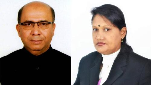 Samir Chnadra and Smrity elected president and secretary respectably