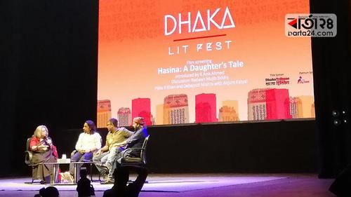 'Hasina–A daughters Tale' in the Lit Fest