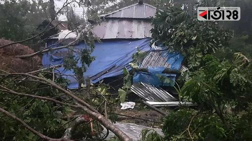 Six die, over 100 injured, houses damaged
