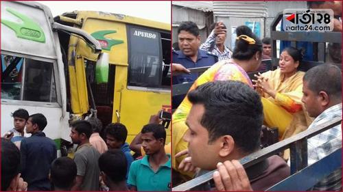 Over 50 injured in Rangpur road crash