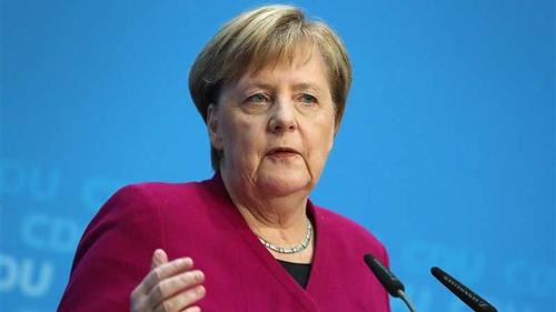 Concrete wall cannot be a barrier to freedom: Angela Merkel