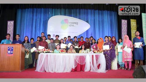 ঢাবি সাংবাদিকতা বিভাগ: নবীনদের বরণ, হৃদমাঝারে বিদায়ীরা!