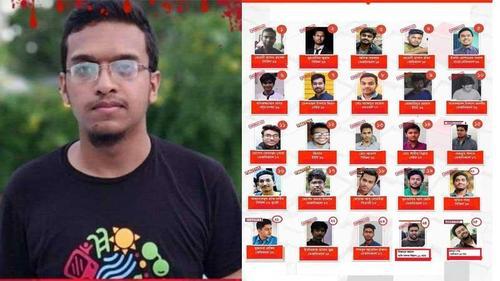 25 charged in Abrar murder case
