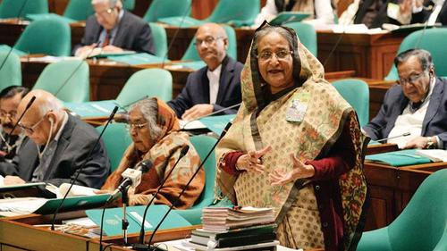 'Bangladesh will go ahead ignoring all conspiracies'- Sheikh Hasina